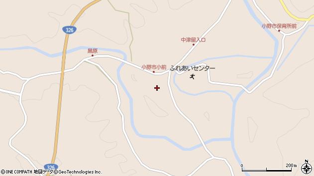 大分県佐伯市宇目大字小野市3784周辺の地図