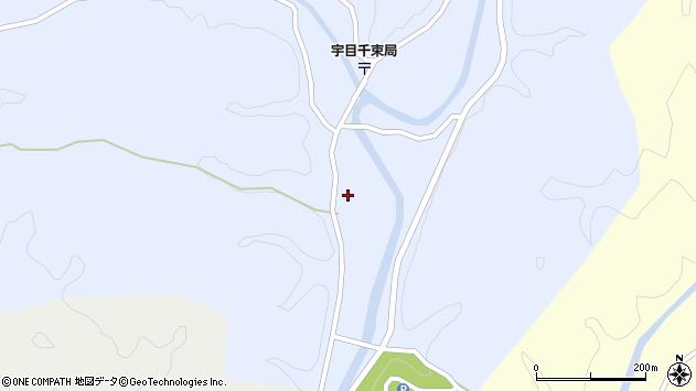 大分県佐伯市宇目大字千束2600周辺の地図