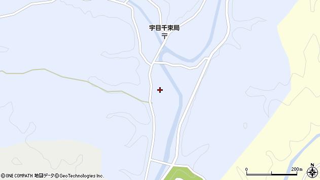 大分県佐伯市宇目大字千束2594周辺の地図