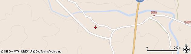 大分県佐伯市宇目大字小野市5466周辺の地図
