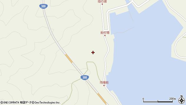 大分県佐伯市蒲江大字畑野浦303周辺の地図