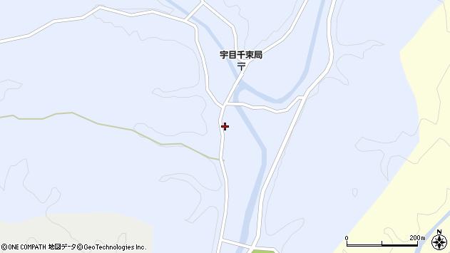 大分県佐伯市宇目大字千束2584周辺の地図