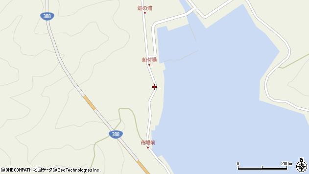 大分県佐伯市蒲江大字畑野浦281周辺の地図