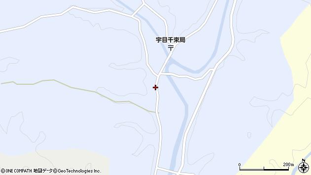 大分県佐伯市宇目大字千束2514周辺の地図