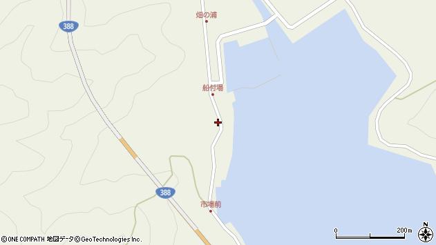 大分県佐伯市蒲江大字畑野浦280周辺の地図