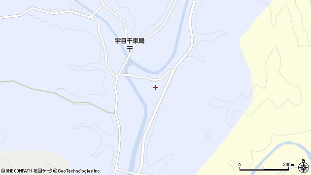 大分県佐伯市宇目大字千束2728周辺の地図