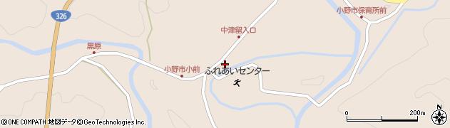 大分県佐伯市宇目大字小野市3400周辺の地図