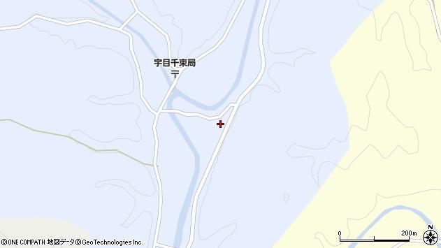 大分県佐伯市宇目大字千束2727周辺の地図
