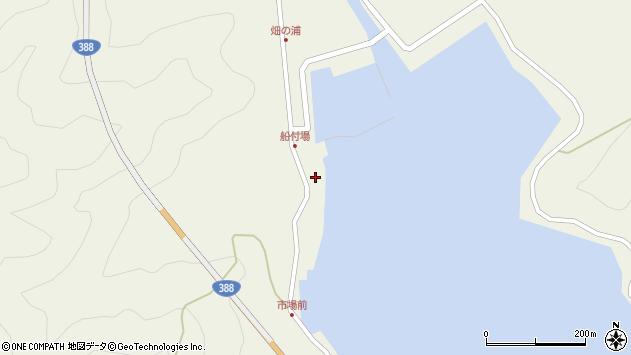 大分県佐伯市蒲江大字畑野浦277周辺の地図