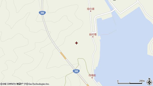 大分県佐伯市蒲江大字畑野浦353周辺の地図