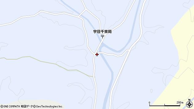 大分県佐伯市宇目大字千束2582周辺の地図