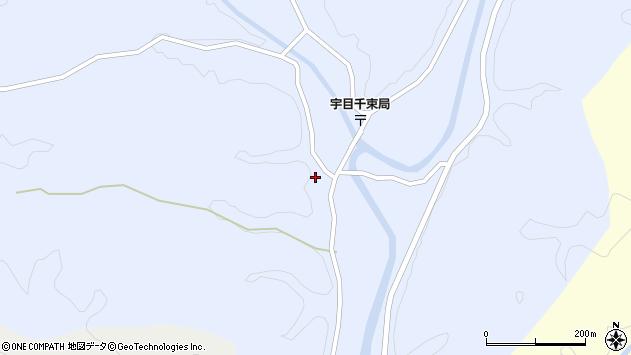 大分県佐伯市宇目大字千束2520周辺の地図