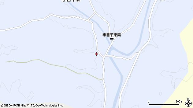 大分県佐伯市宇目大字千束2524周辺の地図