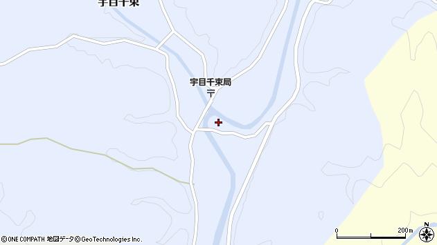 大分県佐伯市宇目大字千束2740周辺の地図