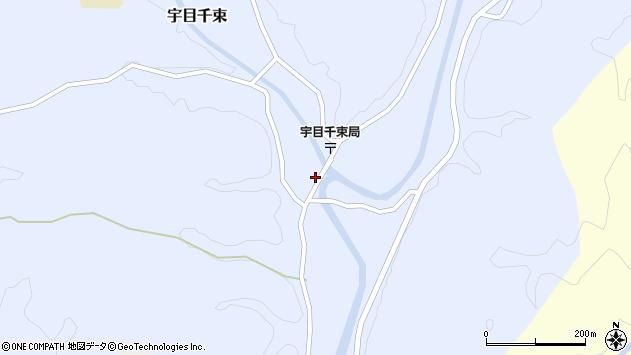大分県佐伯市宇目大字千束2571周辺の地図