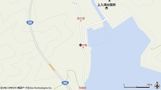 大分県佐伯市蒲江大字畑野浦374周辺の地図