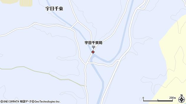 大分県佐伯市宇目大字千束2573周辺の地図