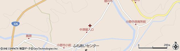 大分県佐伯市宇目大字小野市3497周辺の地図