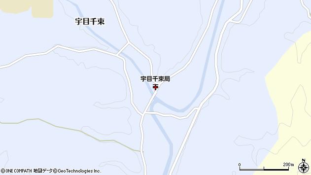 大分県佐伯市宇目大字千束2158周辺の地図