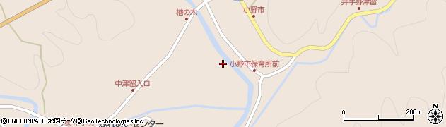 大分県佐伯市宇目大字小野市3464周辺の地図