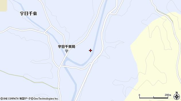 大分県佐伯市宇目大字千束2137周辺の地図