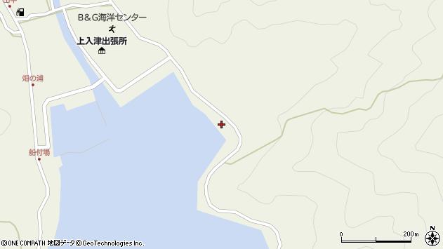 大分県佐伯市蒲江大字畑野浦2596周辺の地図