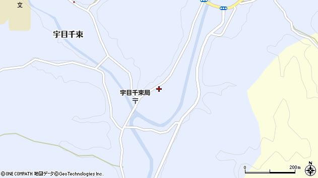 大分県佐伯市宇目大字千束2136周辺の地図