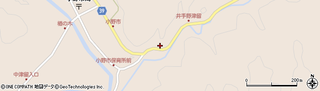 大分県佐伯市宇目大字小野市3031周辺の地図