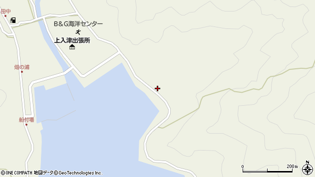 大分県佐伯市蒲江大字畑野浦2593周辺の地図