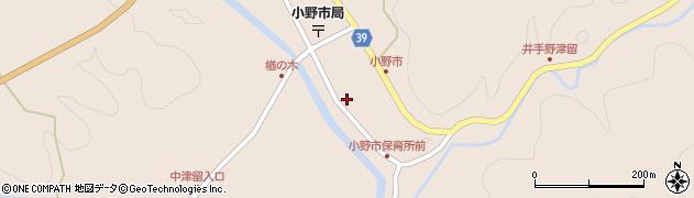 大分県佐伯市宇目大字小野市2943周辺の地図