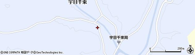 大分県佐伯市宇目大字千束2076周辺の地図