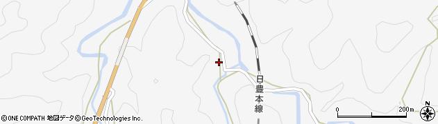 大分県佐伯市直川大字仁田原2605周辺の地図
