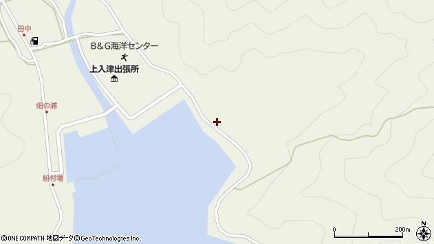 大分県佐伯市蒲江大字畑野浦2585周辺の地図