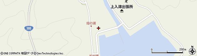 大分県佐伯市蒲江大字畑野浦389周辺の地図