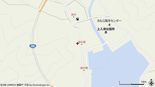 大分県佐伯市蒲江大字畑野浦402周辺の地図