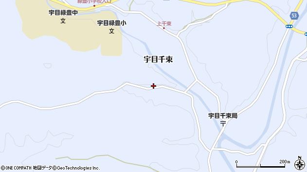 大分県佐伯市宇目大字千束2199周辺の地図