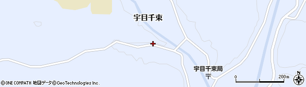 大分県佐伯市宇目大字千束2200周辺の地図