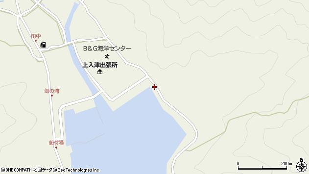 大分県佐伯市蒲江大字畑野浦2570周辺の地図