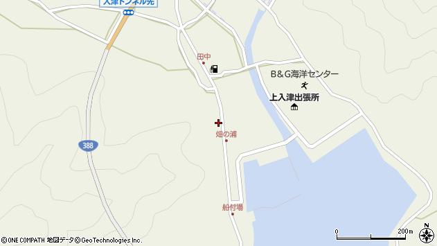 大分県佐伯市蒲江大字畑野浦410周辺の地図