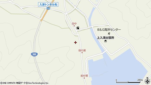 大分県佐伯市蒲江大字畑野浦418周辺の地図