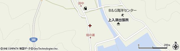 大分県佐伯市蒲江大字畑野浦415周辺の地図