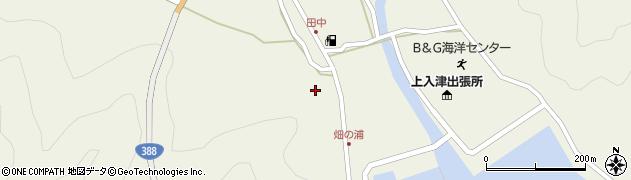 大分県佐伯市蒲江大字畑野浦429周辺の地図