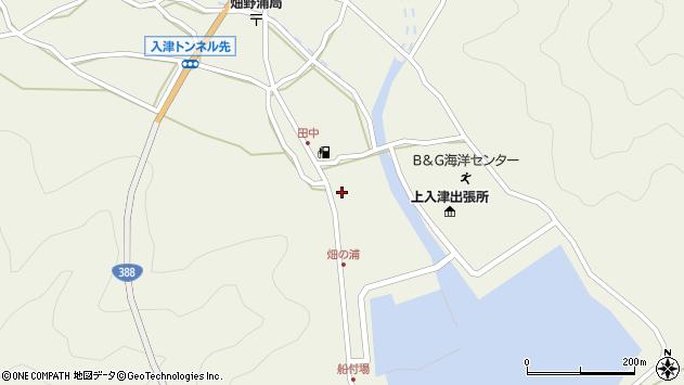 大分県佐伯市蒲江大字畑野浦424周辺の地図