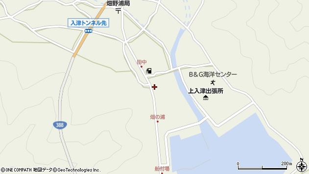 大分県佐伯市蒲江大字畑野浦434周辺の地図