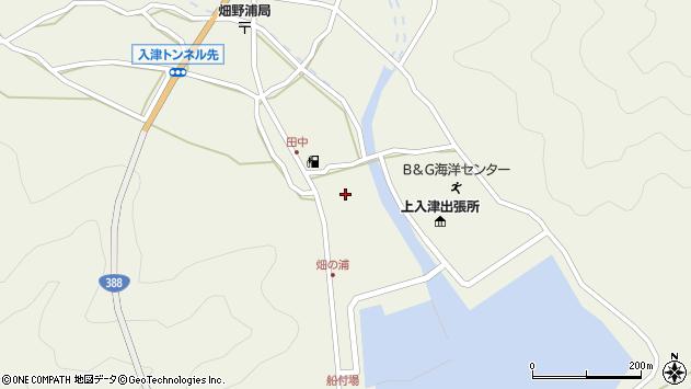 大分県佐伯市蒲江大字畑野浦595周辺の地図