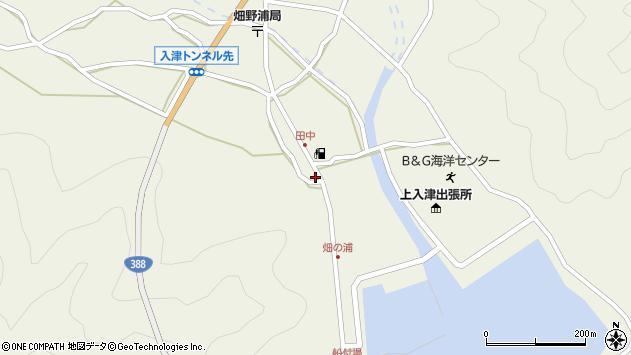 大分県佐伯市蒲江大字畑野浦592周辺の地図