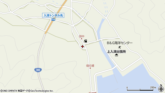 大分県佐伯市蒲江大字畑野浦590周辺の地図