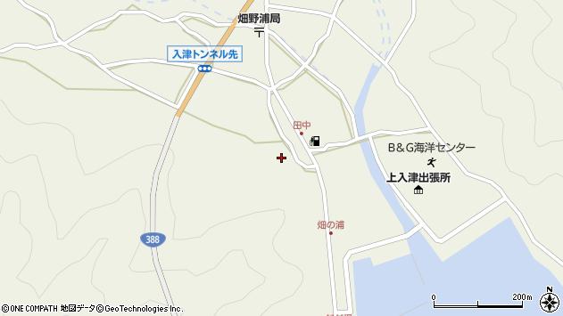 大分県佐伯市蒲江大字畑野浦582周辺の地図