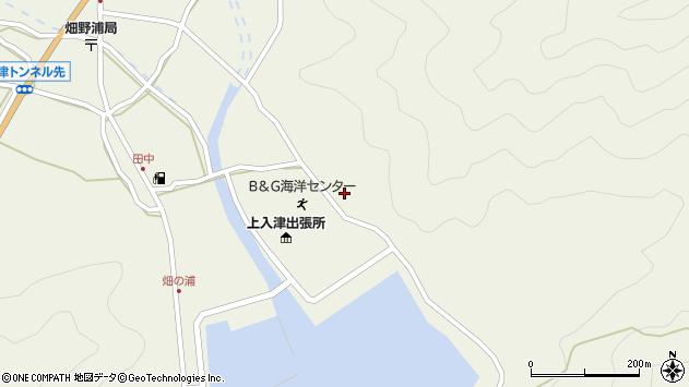 大分県佐伯市蒲江大字畑野浦2557周辺の地図