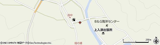 大分県佐伯市蒲江大字畑野浦597周辺の地図